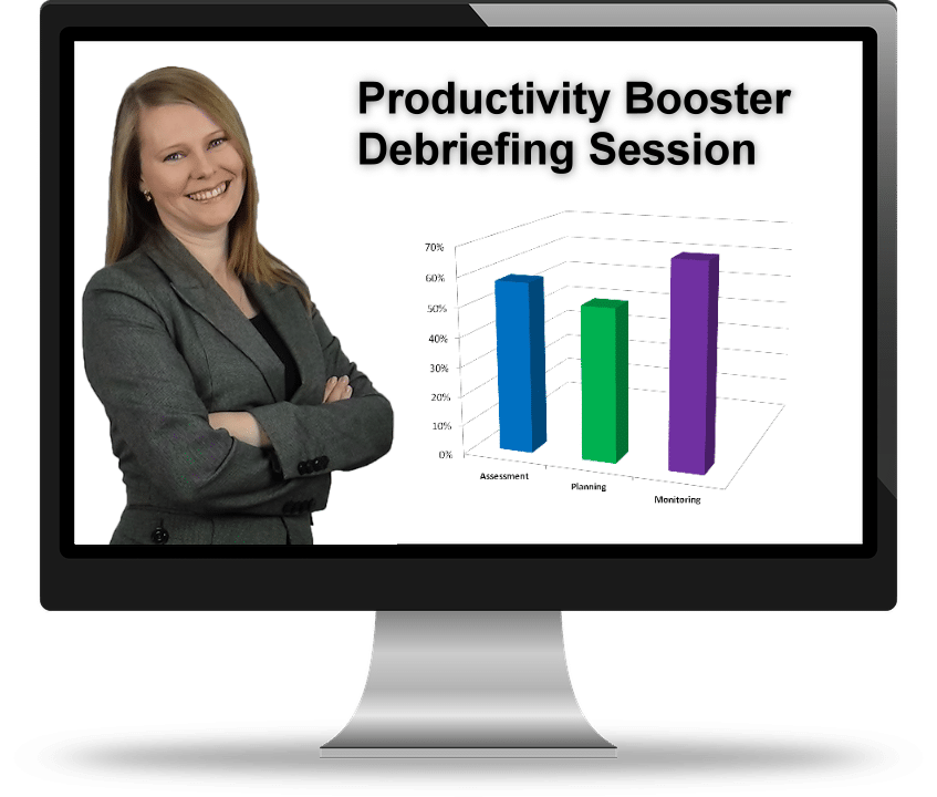 Productivity Booster Debriefing Session