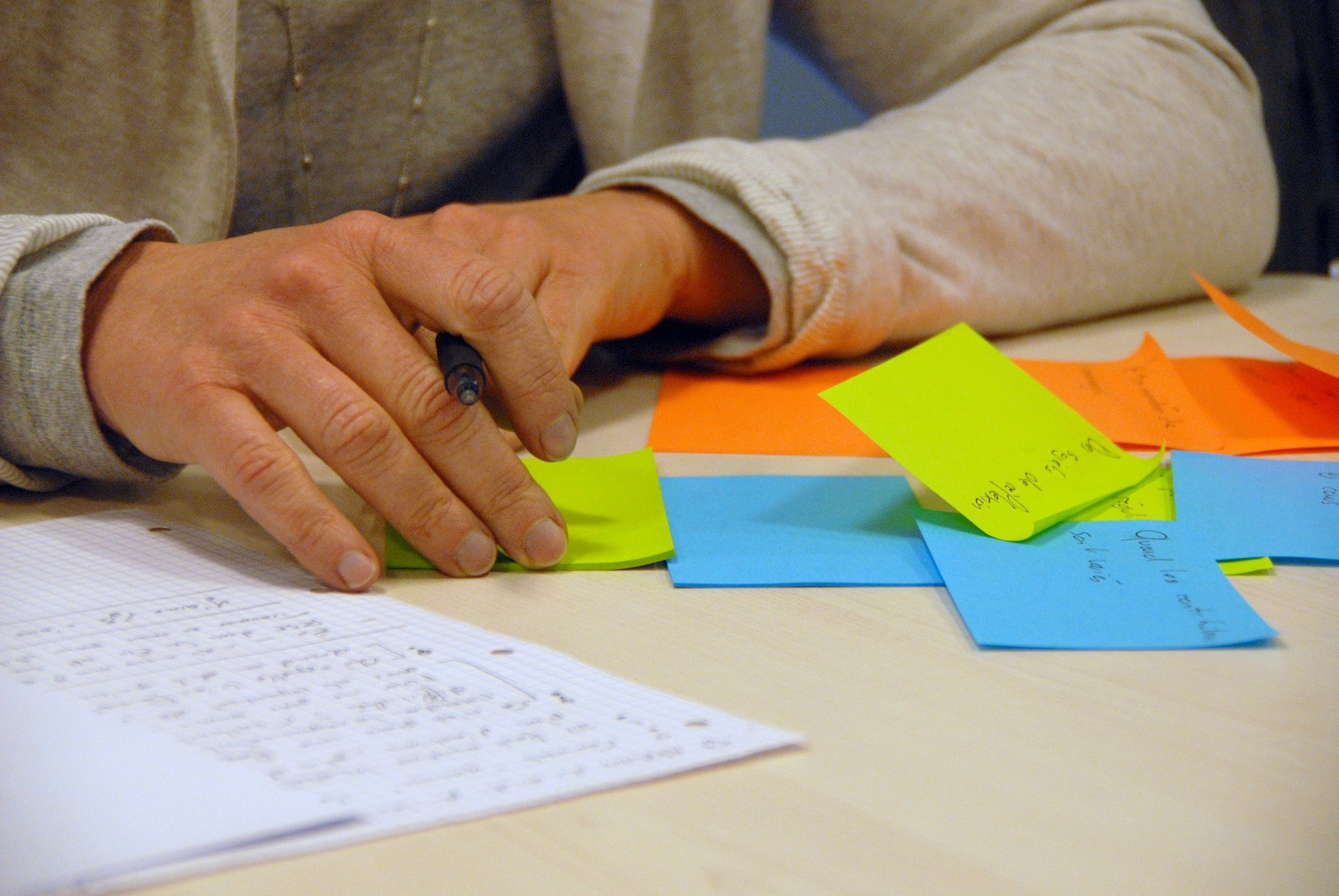 post-it method organize your day