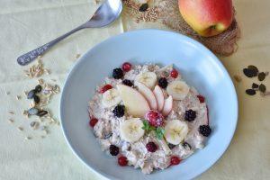 balanced breakfast for high productivity